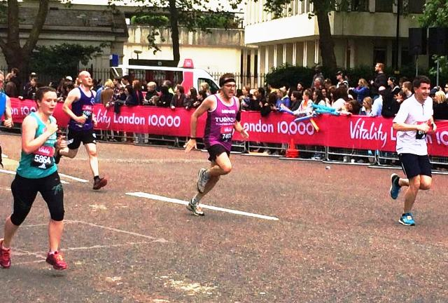 Menno at the London 10K