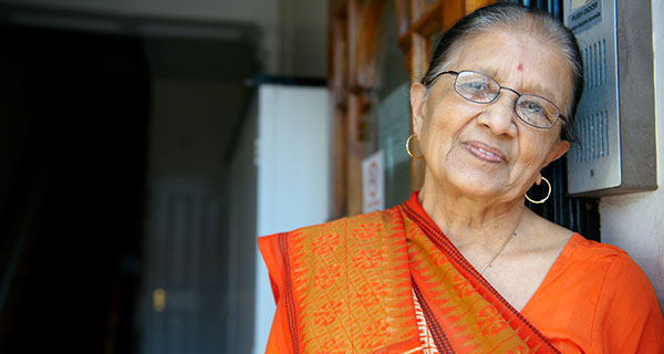 Older Indian lady