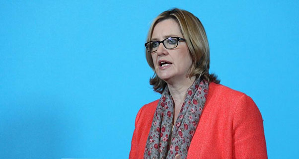 Amber Rudd, Secretary of State for Work and Pensions