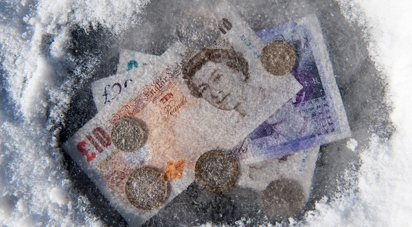 money under ice