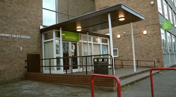 A jobcentre plus building