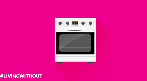 Living without a cooker infographic