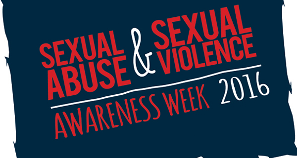 Sexual abuse and Sexual Violence awareness logo 2016