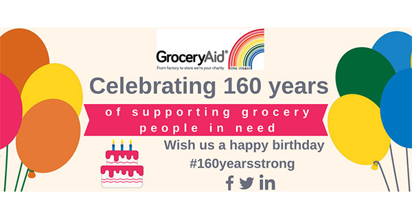 GroceryAid 160 years logo