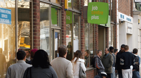 Jobcentre plus queue