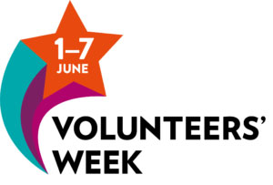 Volunteers' Week 2019 logo