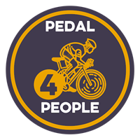 Turn2us Pedal4People logo