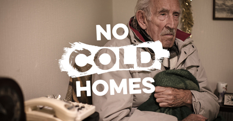 No Cold Homes image Older man